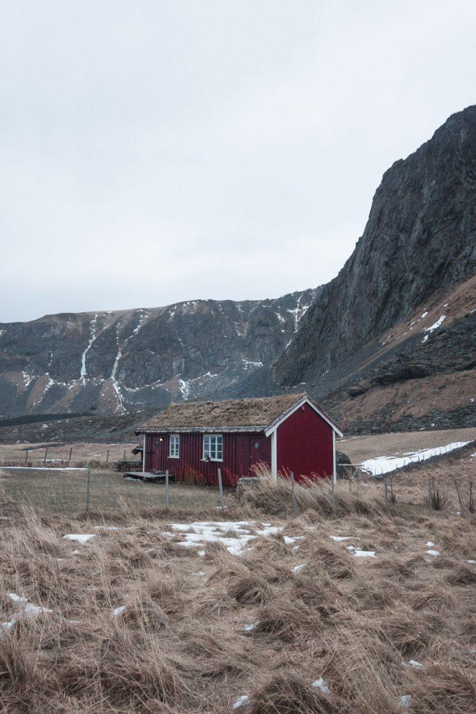 Afgelegen surfdorp in Noorwegen
