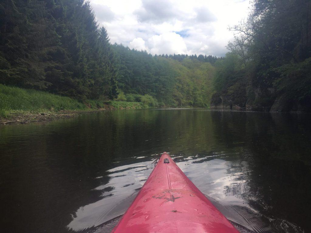 Kayakken door de Ardennen