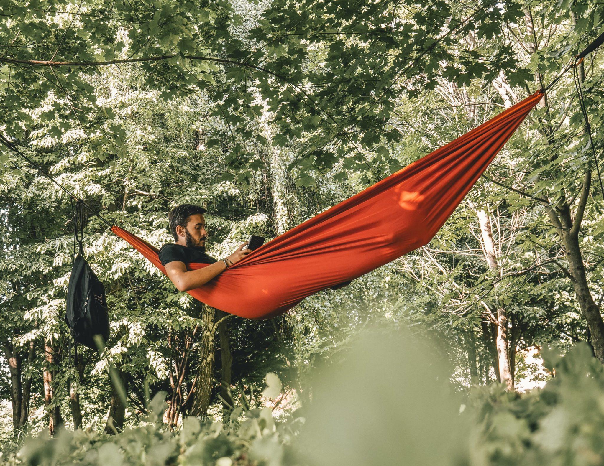 Tips voor slapen in hangmat