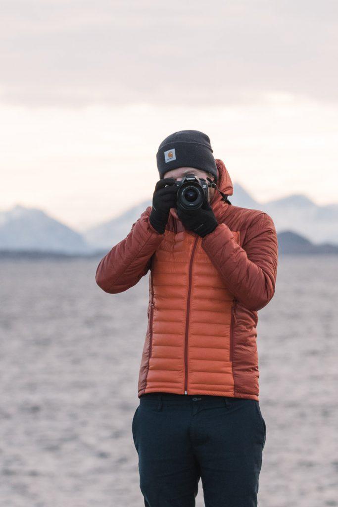 Dylan fotografeert Lofoten, Noorwegen
