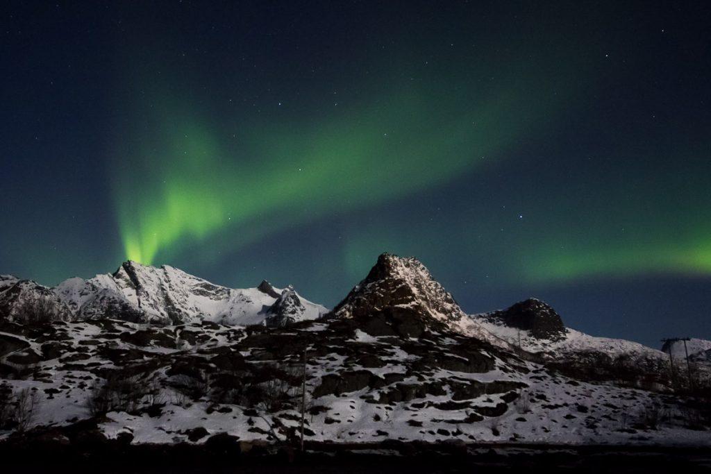 Noorderlicht fotografie Noorwegen