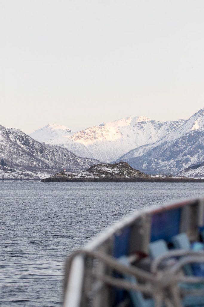 Fjord Lofoten Noorwegen