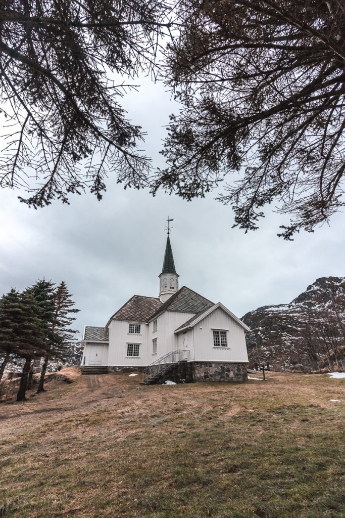 Bezoek aan Reine, Noorwegen