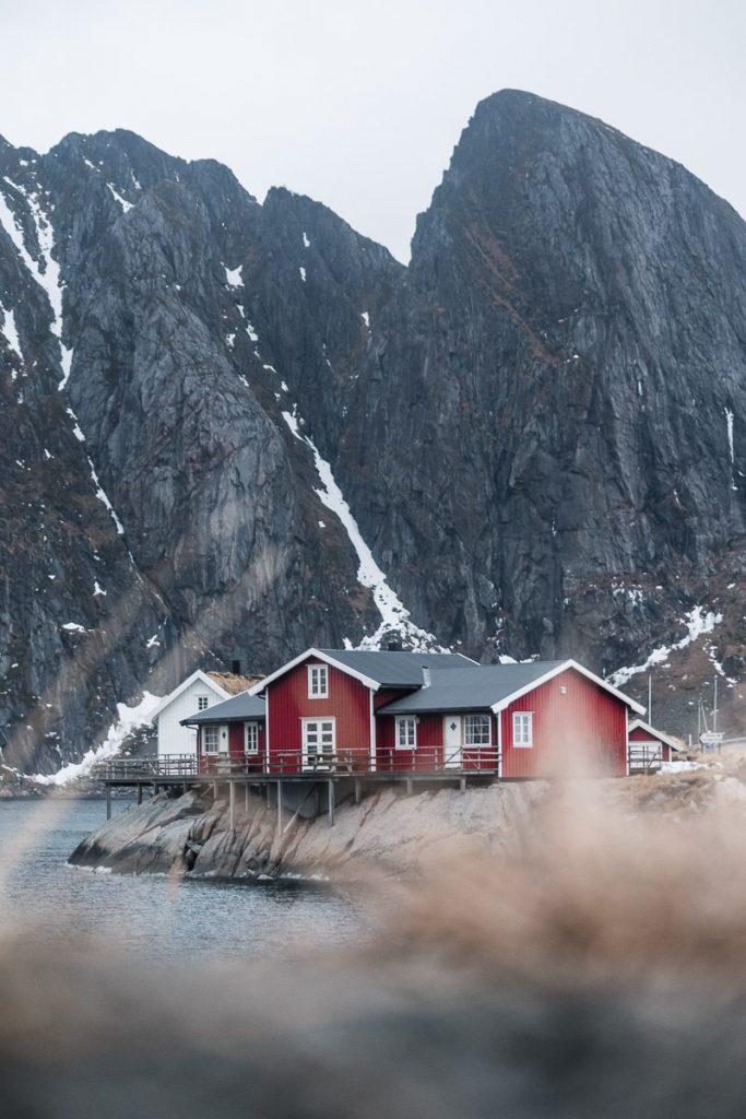Rorbuer chalets Noorwegen