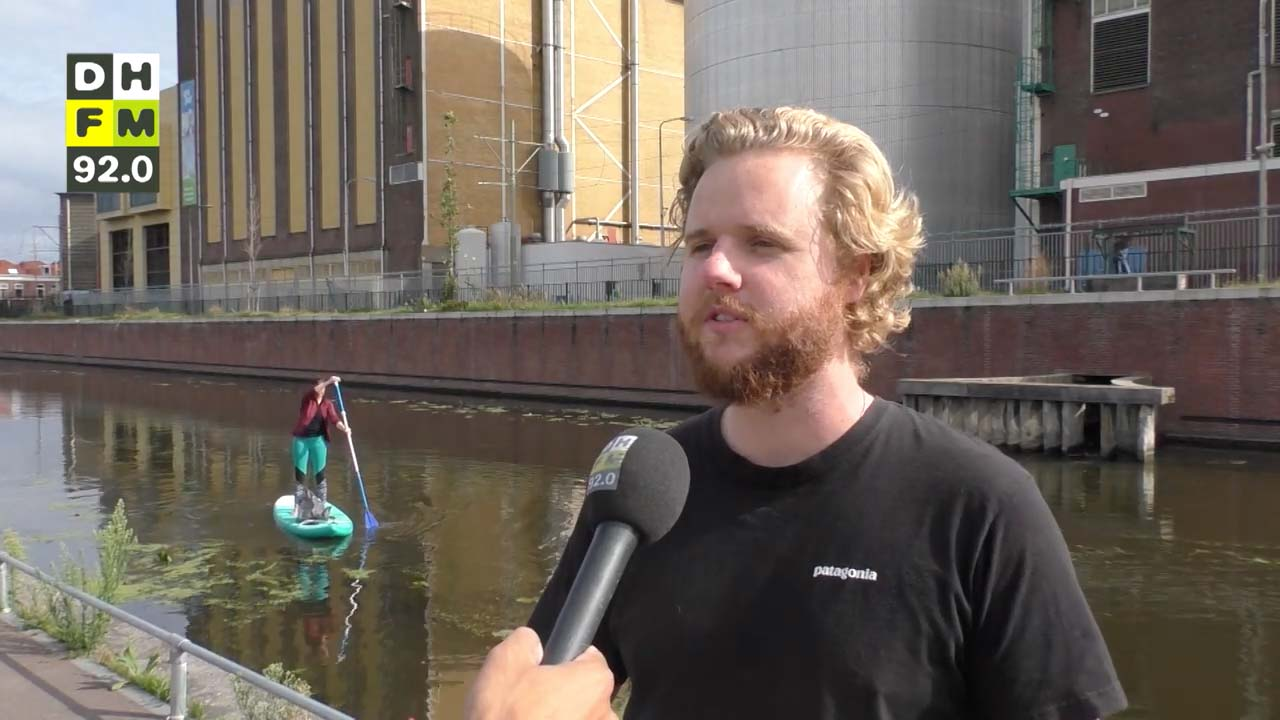 Den Haag FM over schoon suppen grachten