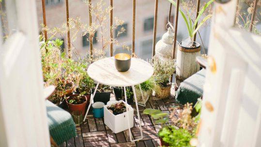 Balkon eenvoudig vergroenen