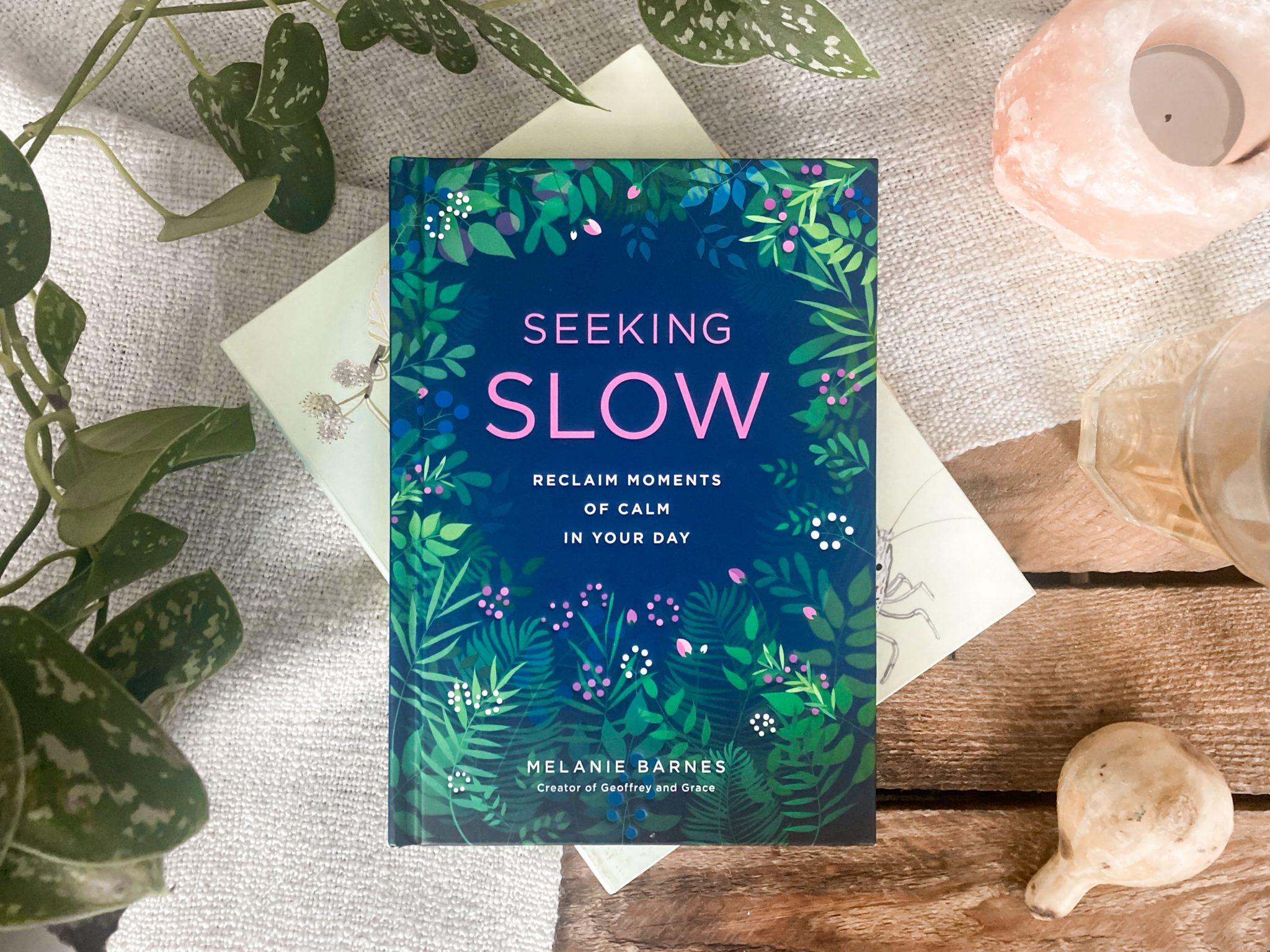 Boek Melanie Barnes Slow living
