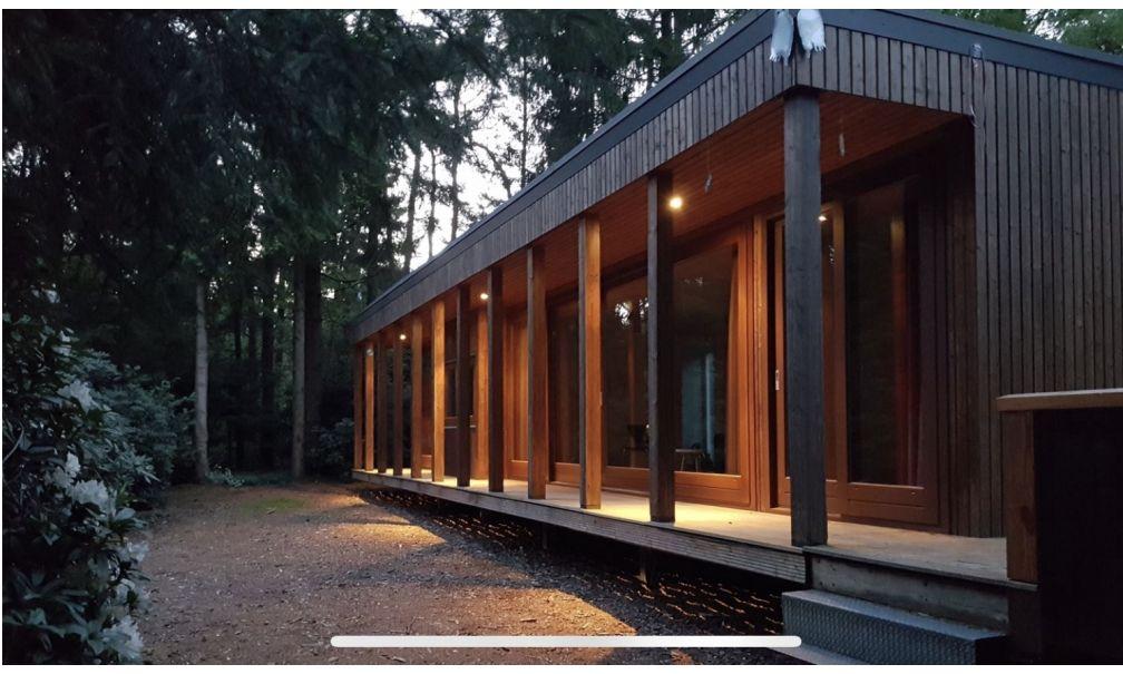 Luxe natuurhuis in Drents bos